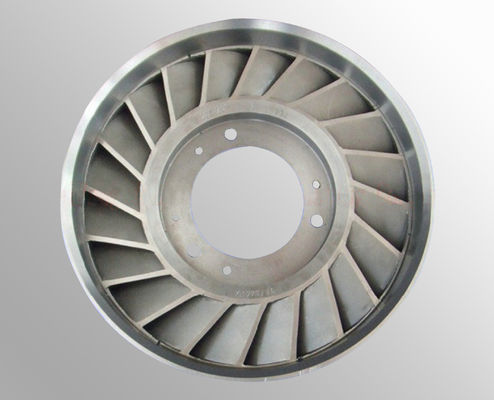 China High temperature nickel base alloy Vacuum Investment Casting steam turbine wheel supplier