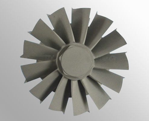 China Vacuum investment casting steam turbine wheel with High temperature nickel base alloy supplier