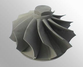 China Turbine wheels vacuum investment casting raw casting machining High temperature nickel base alloy supplier