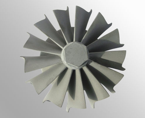 China High temperature nickel base alloy vacuum investment casting gas turbine wheel supplier