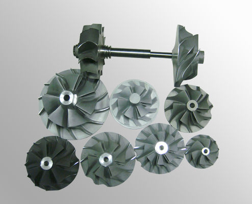 China Turbo fan wheels parts vacuum investment casting High temperature nickel base alloy supplier