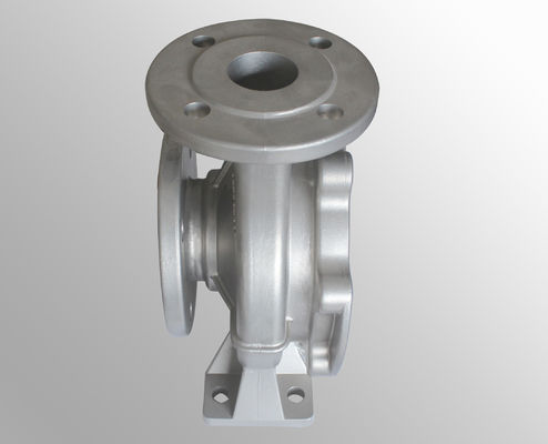 China Investment body pump parts casting surface treatment 16MnCr5 42Cr carbon steel supplier