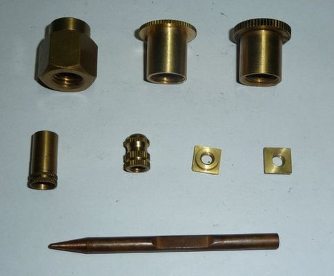 China Copper alloy material cnc machine parts no broken on the surface supplier