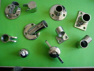 China Stainless steel joint mirror polish parts part  precision metal casting supplier
