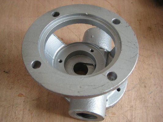 China Valve 450-10 ductile iron casting heat treatment  metal casting parts supplier