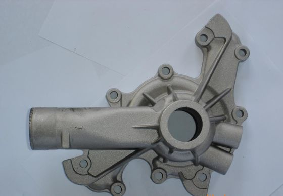 China Die casting aluminum alloys tube part supplier