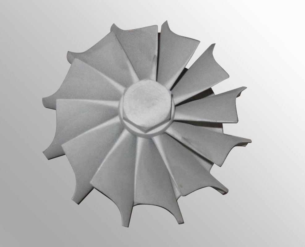 Vacuum investment gas turbine wheel / precision investment