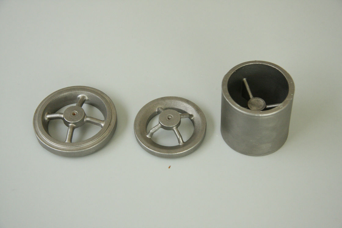 Bushing stainless steel investment castings parts / wax metal casting