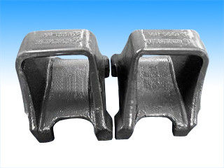 Quenching framework ductile custom iron casting parts shell mold pouring