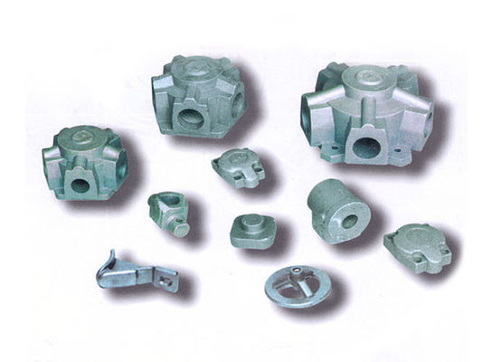 China Iron 450-10 ductile iron casting parts heat treatment is wax mould , shell mold factory