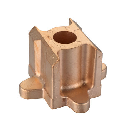 China Raw casting machining CNC alloy Copper investment casting thread and mill distributor