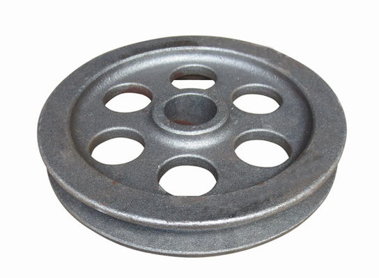 China Machine wheel part  ductile iron casting parts according to drawing factory