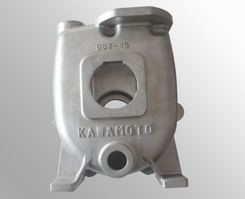 China Carbon steel  pump parts casting body surface treatment raw casting machining distributor
