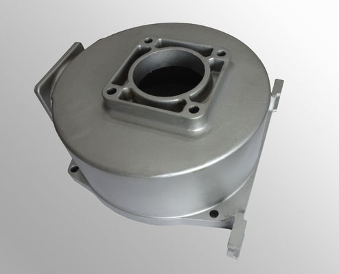 China Surface treatment carbon steel pump parts casting raw casting machining distributor