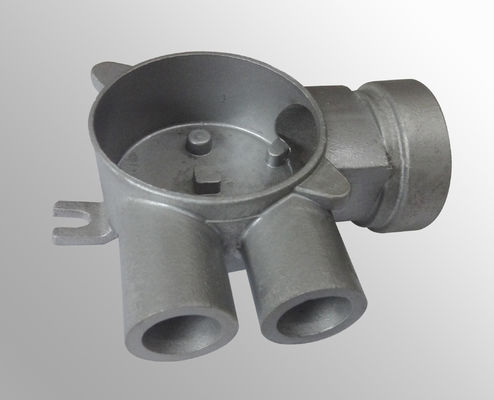China Tee pipe coupling pump parts casting  / investment casting products distributor