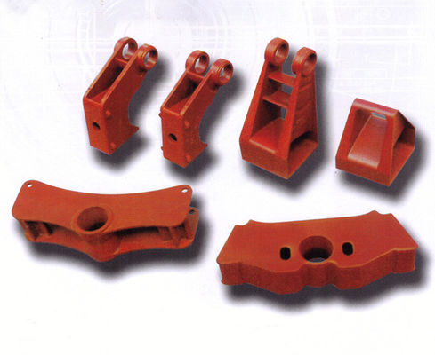 China Red brake part automobile casting parts carbon steel 42CrMo 8620 4145 distributor