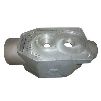 China Raw casting machining connector sand casting parts heat treatment for machine factory