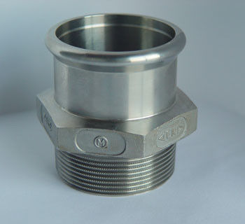 China Tube joint stainless steel precision casting factory