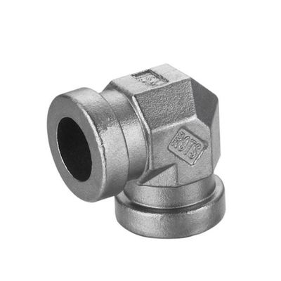 China Big joint stainless steel precision casting / lost wax process casting parts factory