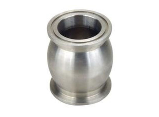 China Lost wax bushing liner stainless steel investment casting products polishing factory