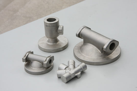 China Air pressing equipment stainless steel investment casting parts mill and thread distributor