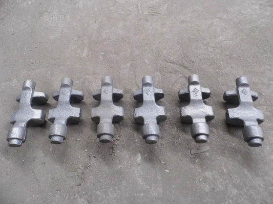 China Heat treatment  450-10 ductile iron casting parts plug in the machine factory