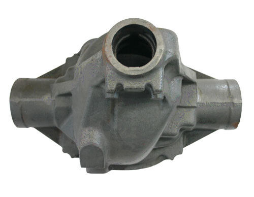 China 03 joint iron 450-10 ductile iron fittings heat treatment metal casting parts factory