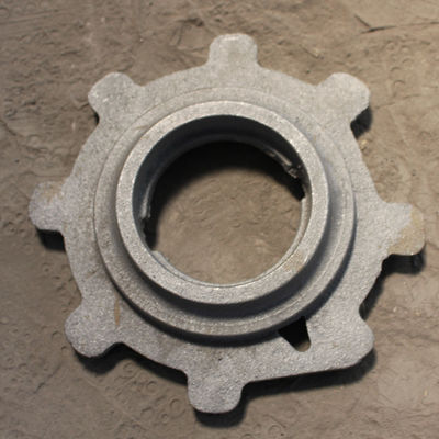 China Plug ductile iron metal casting parts factory