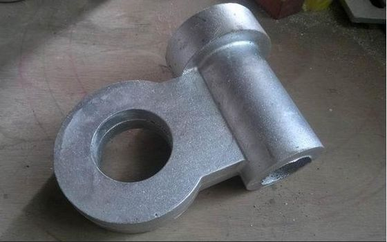 China Material aluminum sand casting parts zinc plating for machine factory