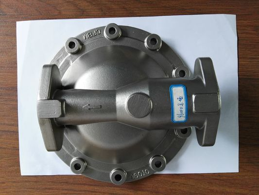 China Custom cap soluble wax investment casting  stainless steel CF8M distributor
