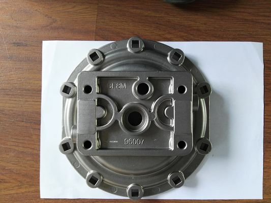 China CF8M Stainless Steel Casting Parts soluble wax investment casting cap distributor